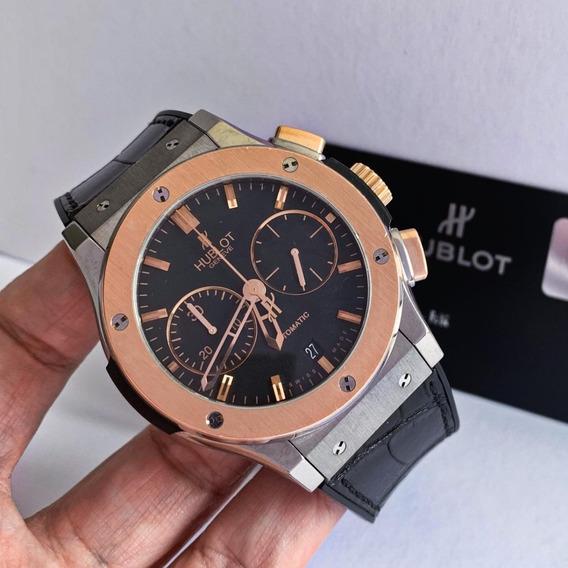 Hublot Classic Fusion Chrono Ouro Rosé & Aço Completo 45mm