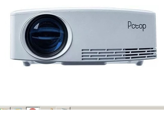 Mini Projetor Pctop Gp80 2000 Lumens 220v Frete Grátis