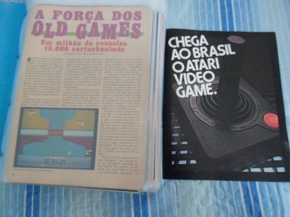 Atari - Material Histórico Raríssimo