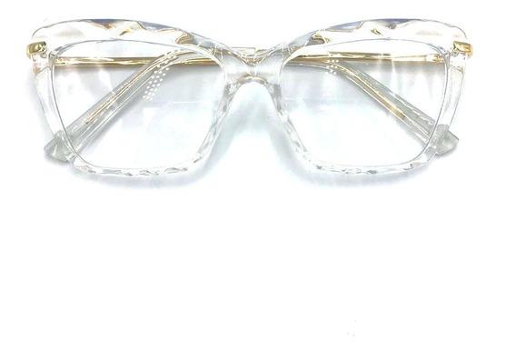 Armaçao P/grau Feminino Transparente Trend Chic Diamante