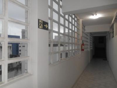 Apartamento Residencial, Tipo Sala Living Para Locação, Boqueirão, Santos. - Ap8333