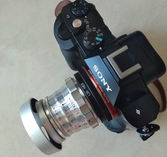 Lente Kmz Industar 26-m . Canon-sony-fuji-micro 4\3