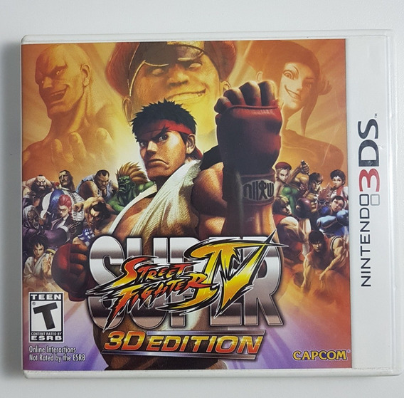 Super Street Fighter Iv 3d Edition 3ds