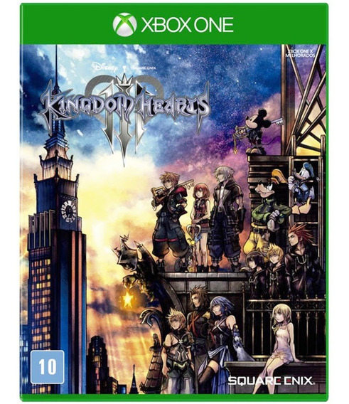 Jogo Kingdom Hearts 3 Xbox One Midia Fisica Original Lacrado