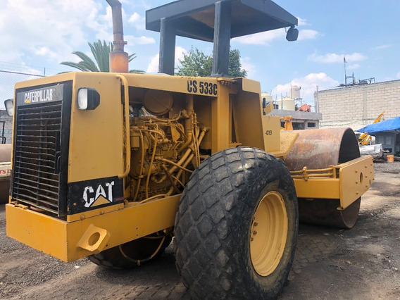 Vibrocompactador Caterpillar Cat Cs533c Mixto Liso Perfectas