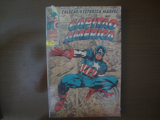 Hq Coleção Histórica Marvel Homem De Ferro Thor Capitão Amér
