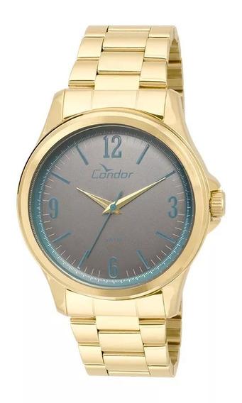 Relógio Condor Unissex Dourado Co2039ag/4c