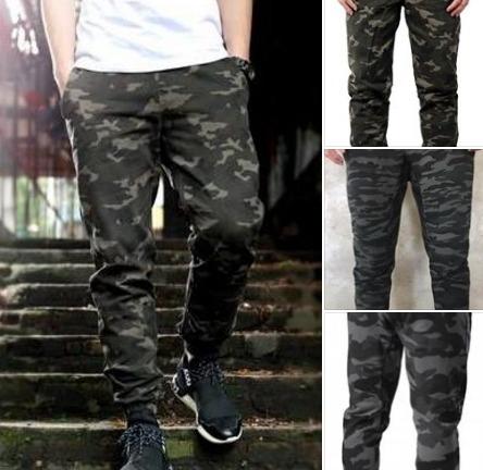 nuevo concepto b24ee 41711 Pantalones Camuflados Algodón Rustico! Gris O Verde