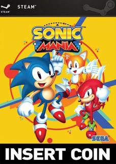 Sonic Mania || Pc || Steam || Original || Digital