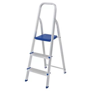 Escada Em Alumínio 03 Degraus