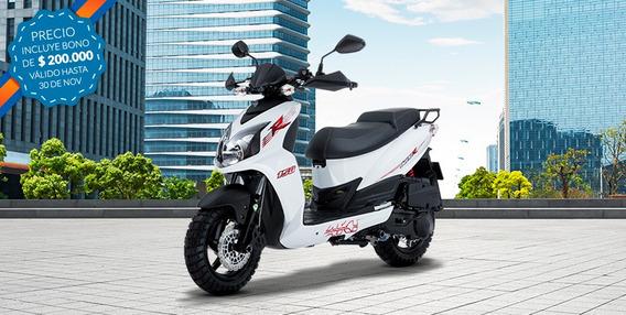 Moto Akt Jet 5 Barata, 2015 $2