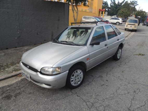 Ford Escort Gl Zetec 2000 Com Kit Gás Por Baixo - R$6000,00