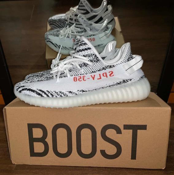 Yeezy Boost V2 350 Zebra 9.5 Us 7.5 Mx Hqr