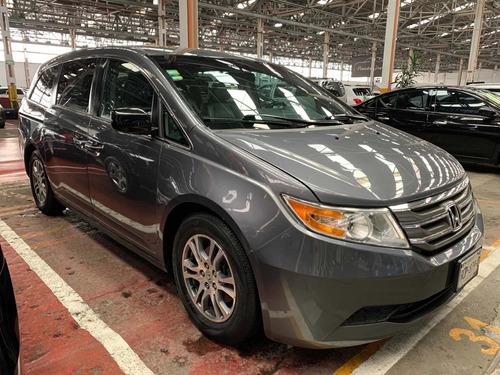 Imagen 1 de 14 de Honda Odyssey 2013 3.5 Exl Minivan Piel Dvd Qc At
