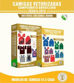 Vetores Das Camisa Do Brasileirão Série A 2019 Modelos 1 E 2