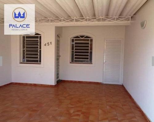 Imagem 1 de 9 de Casa À Venda, 100 M² Por R$ 260.000,00 - Jardim Brasília - Piracicaba/sp - Ca0820