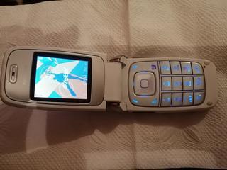 Nokia 6101 Blanco En Buen Estado Para Telcel,chips 3g Y 4g