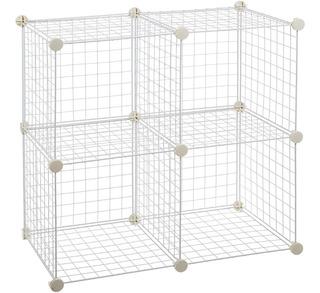 Organizador Modular De Rejillas 4 Cubos