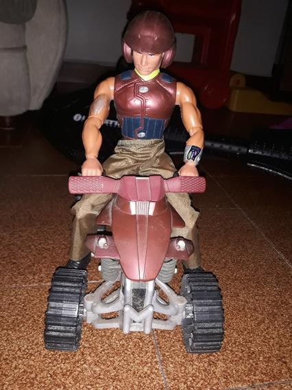 Moto Max Steel Con Muñeco