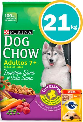 Ración Perro Dog Chow Adultos Maduros + Obsequio Y E. Gratis
