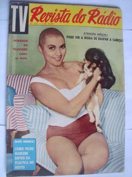 Revista Do Radio 631 Out 61 Elza Soares Hebe Camargo