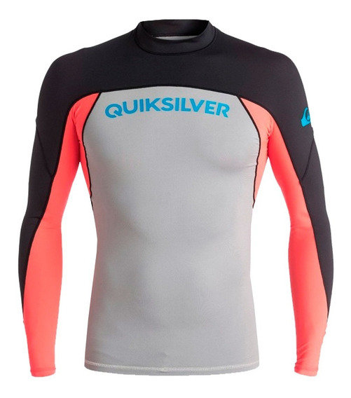 Playera Deportiva Para Surf Ajustable Multicolor Quiksilver