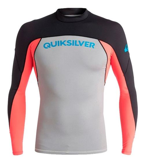 Playera Deportiva Para Surf Ajustable Multicolor Quiksilver