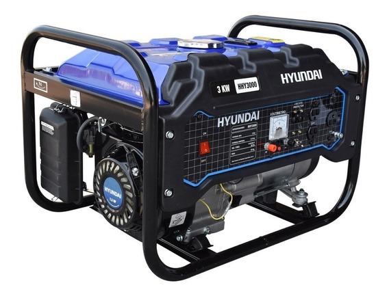 Generador Planta De Luz Hyundai 3,000 Watts Hhy3000