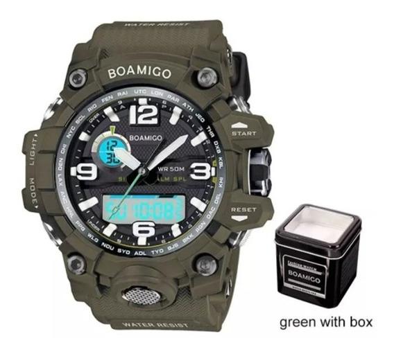 Relógios Boamigo Gshock Analógico Digital Prova Dágua