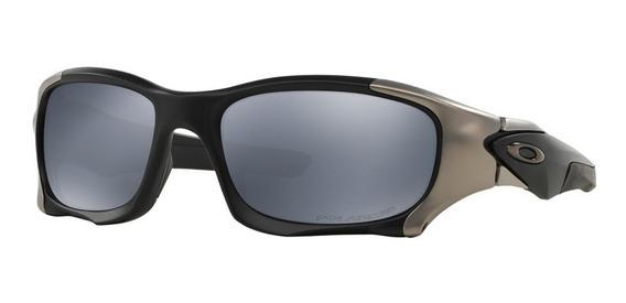 Oakley Pit Boss Ii Oo9137 02 Black Iridium Bronce Original