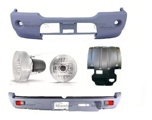 Parach Tr + Pisante + Protetor L-200 Comple Outdoor Savana E