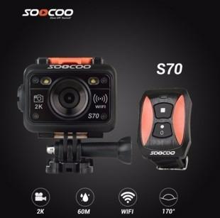 Cámara Deportiva Soocoo S70 Grabación 2k