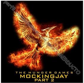 Playera Hunger Games Mockingjay Part 2 Sinsajo Parte 2 Nxve