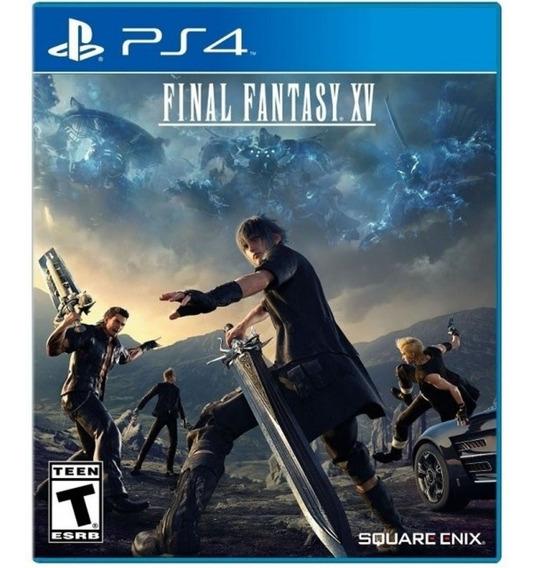 Final Fantasy Xv 15 Ps4 Mídia Física Novo Em Português
