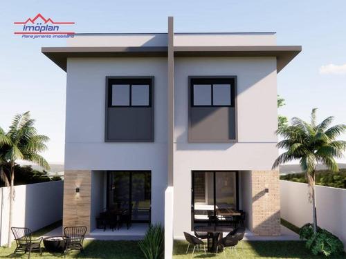 Imagem 1 de 9 de Casa Com 3 Dormitórios À Venda, 120 M² Por R$ 595.000,00 - Jardim Do Lago - Atibaia/sp - Ca4557