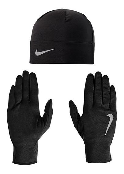 Guante Y Gorro Nike Run 308-4158