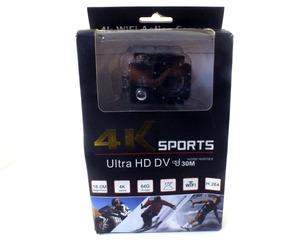 Camera De Ação Sports 4k Ultra Hd Wifi Prova D