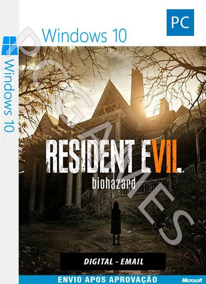Resident Evil 7 - Pc Windows 10 - Online