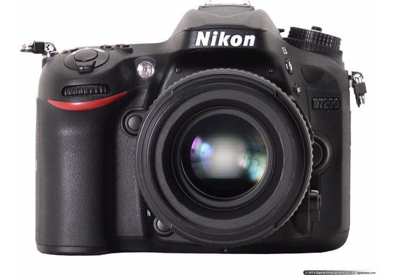 Câmera Nikon D7200 24.2 Mp Wi-fi Kit 18-55mm 12x S/juros