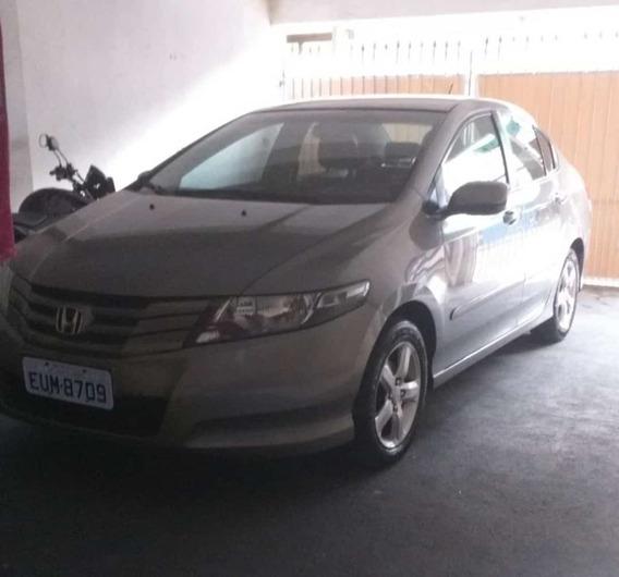 Honda City Dx 2012 - 1.5 - Completo, (-) Couro