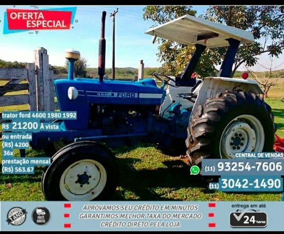 Trator Ford 4600 1980 1992 - Azul