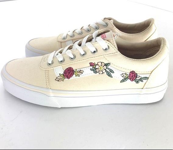 Zapatillas Vans Niñas Ward Flores Skate Urbanas Dep