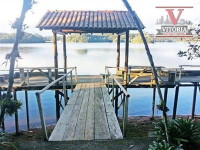 Aceita Casa Em Curitiba - Chácara Com 3 Casas, À Venda, 12000 M² - Tijucas Do Sul/pr - Ch0060