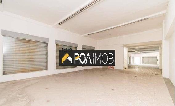 Loja Para Alugar, 450 M² Por R$ 10.000,00/mês - Bom Fim - Porto Alegre/rs - Lo0204