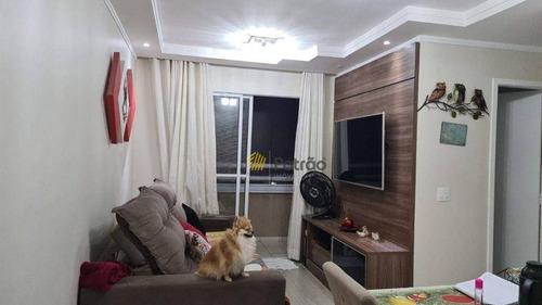Apartamento Com 2 Dormitórios À Venda, 54 M² Por R$ 310.000 - Dos Casa - São Bernardo Do Campo/sp - Ap3344