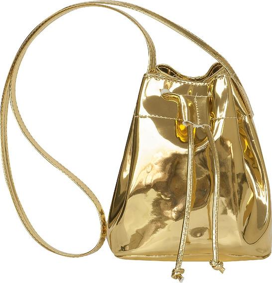 Bolsas Flib Saco Unicornio Verniz Metalizado Infantil Menina