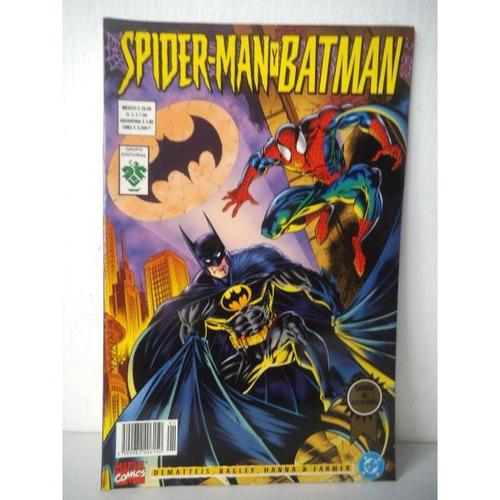Spiderman Y Batman Mentes Desquiciadas Editorial Vid