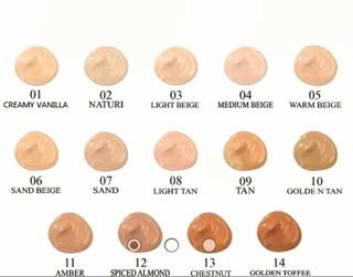 Maquillaje Líquido Milani (ver Fotos Para Tonos ) Original