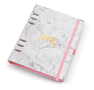 Agenda Planner A5 Organizador Coleção Pink - 6 Argolas