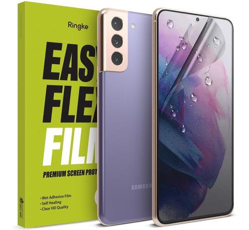 Imagen 1 de 10 de Film Easy Flex S21 Samsung Galaxy Ringke Original Pack X2